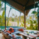 ubud bali indonesia airbnb villa rice fields rice paddies