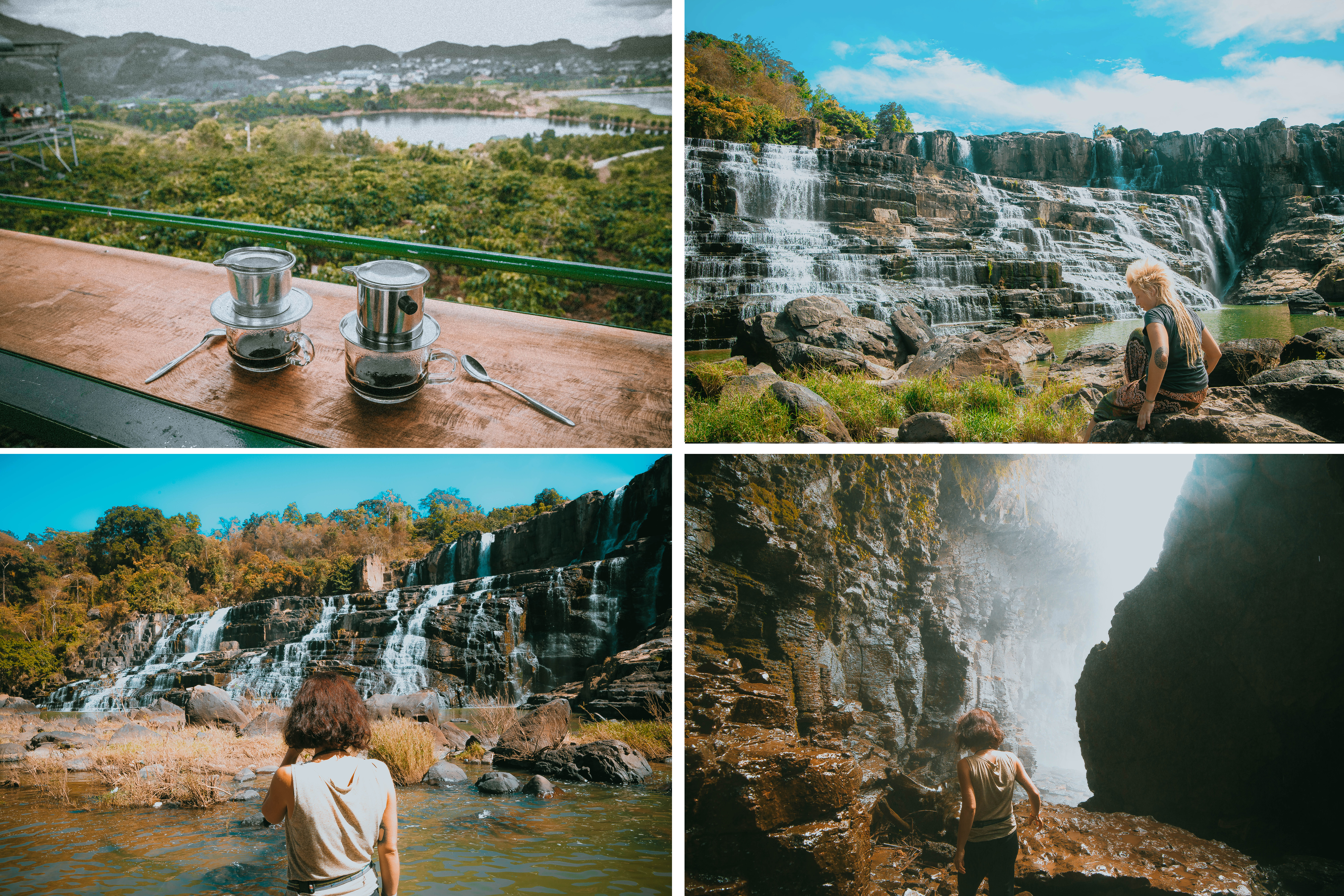 vietnam south east asia coffee plantation silk factory local people working green local culture exploring dalat coffee waterfalls