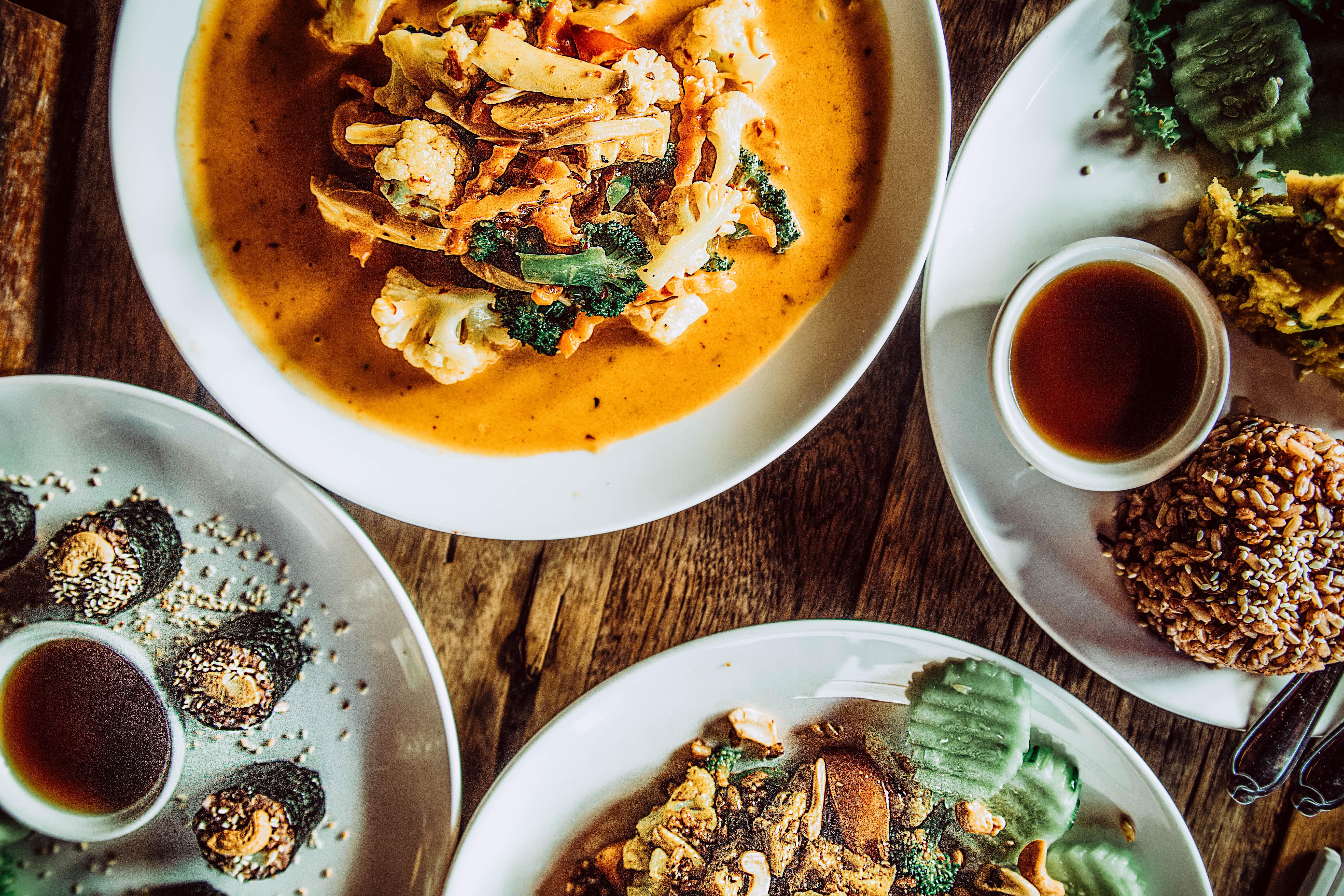vegan curry koh tao island