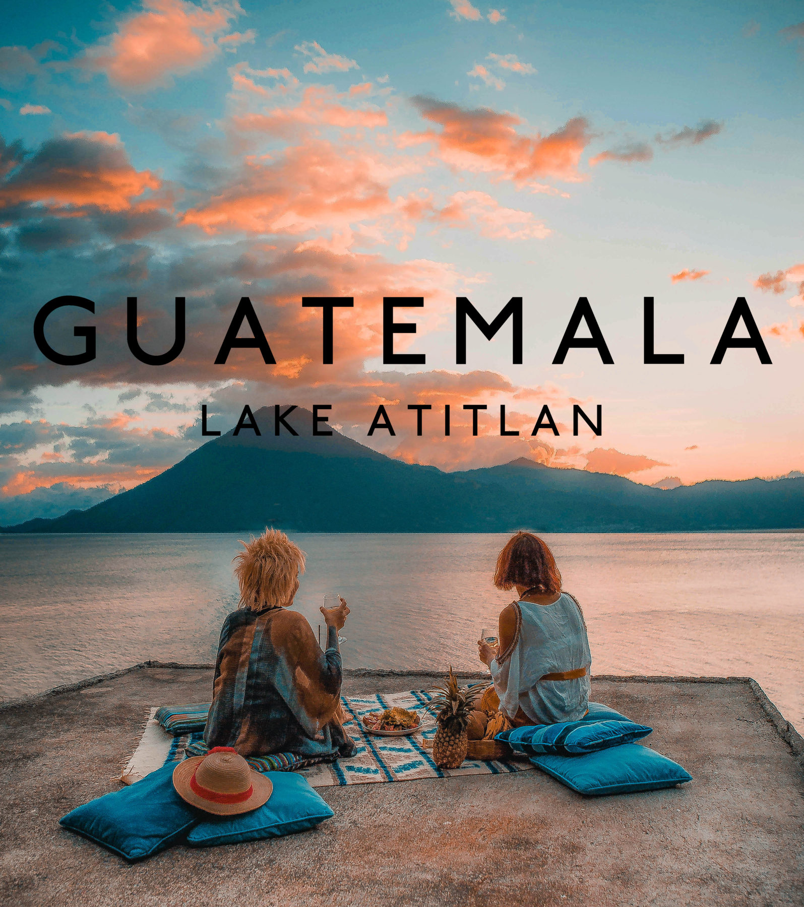 guatemala lake atitlan lago central america most beautiful lake in the world