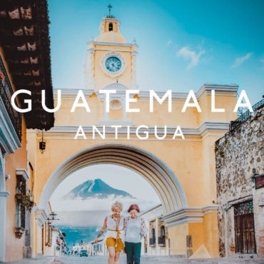 First glimpse of Guatemala and colonial town Antigua