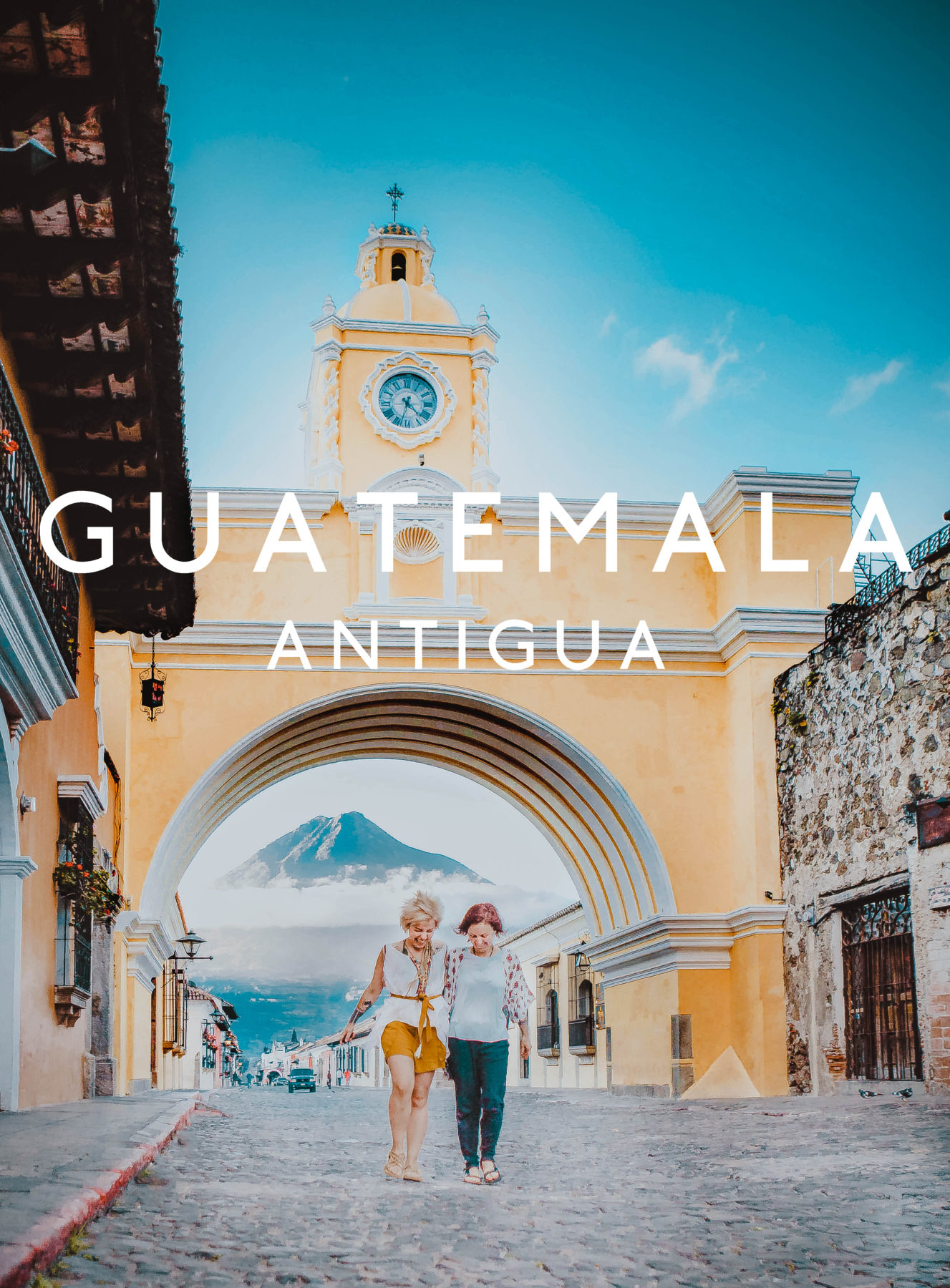 guatemala antigua colonian town exploring central america