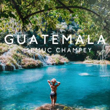 Hidden paradise in the Guatemalan jungle